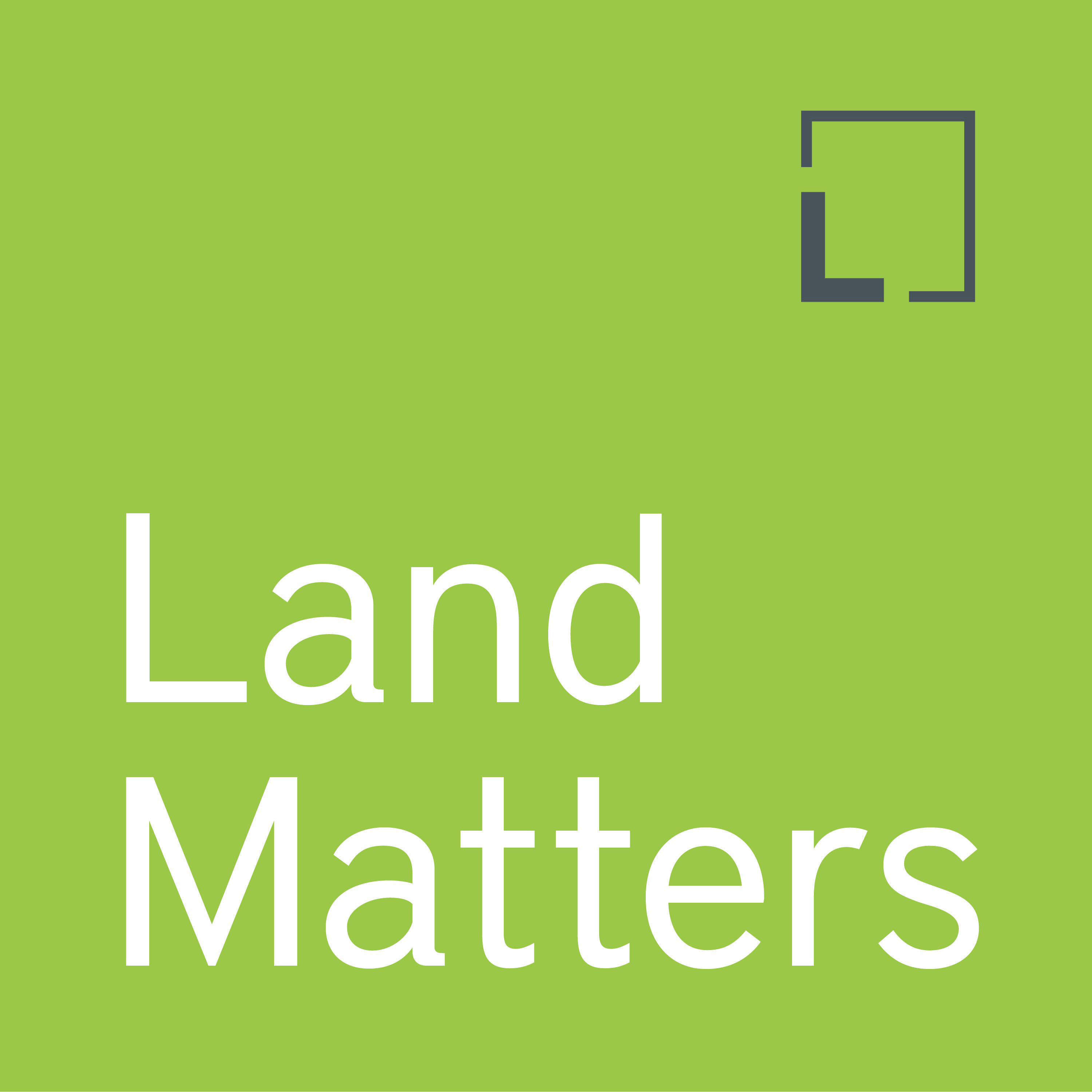 Land Matters podcast logo