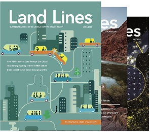 Land Lines Magazine covers