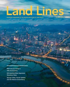 Cover of the October 2017 Issue of Land Lines
