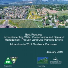 Cover of the co-authored Guidance Addendum