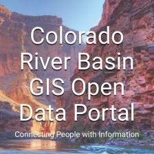Colorado River Basin GIS Open Data Portal