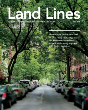 Cover of the April 2018 issue of Land Lines
