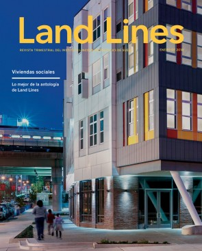 Portada de la edición de enero de 2018 de Land Lines