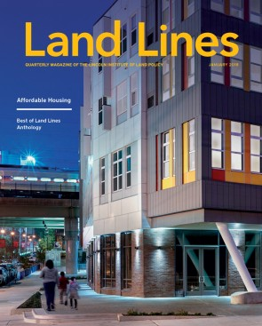 Cover of the January 2018 issue of Land Lines
