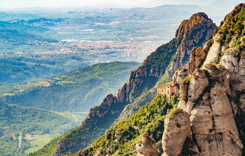 Spain's Montserrat Natural Park