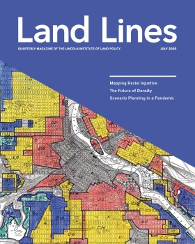 Cover of the July 2020 issue of Land Lines