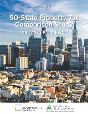 San Francisco Sales Tax 2017 >> 50 State Property Tax Comparison Study Lincoln Institute Of Land